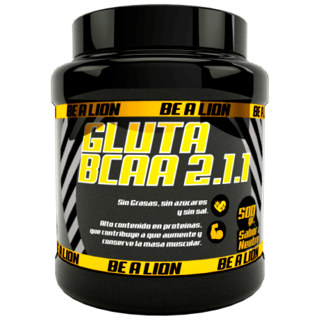 BE A LION GLUTA BCAA 2.1.1 500 gr NEUTRO