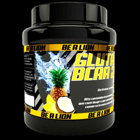 BE A LION GLUTA BCAA 2.1.1 500 gr PIÑA-COCO