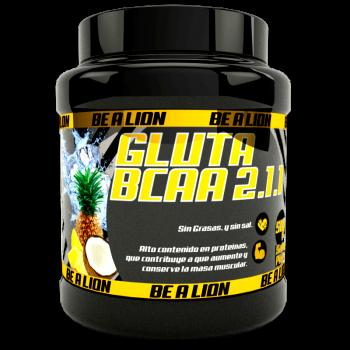 BE A LION GLUTA BCAA 2.1.1 500 gr PIÑA-COCO II