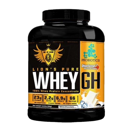 Lion's Pure Whey GH - Chocolate Blanco