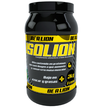 BE A LION ISOLION 2 KG FRESA YOGURT
