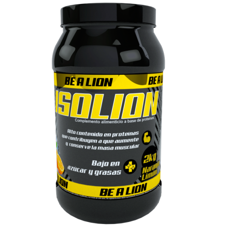 BE A LION ISOLION 2 KG NARANJA LIMÓN